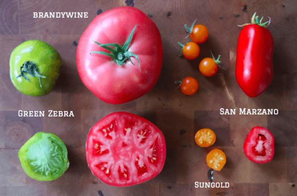 Characteristics of pear-shaped tomatoes