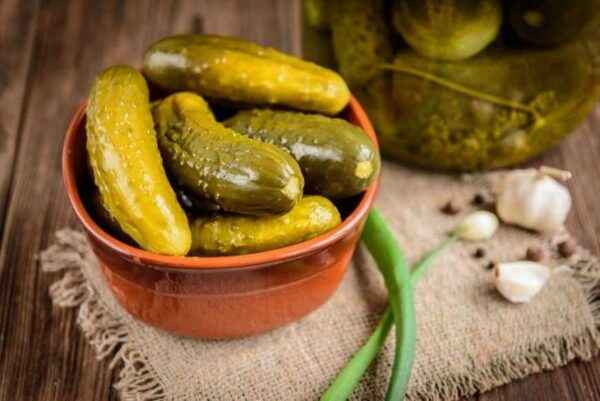 Common varieties of pickles for pickling