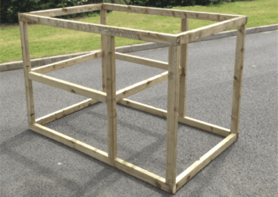How to make a chicken cage