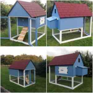 How to make a chicken shed