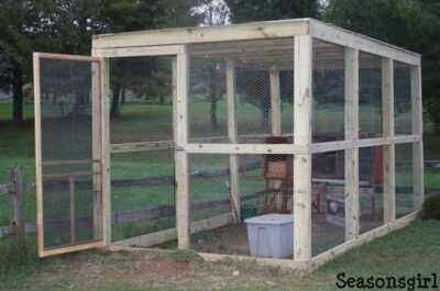 How to make a DIY chicken coop