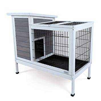 Industrial rabbit cage device