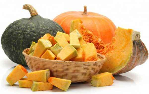 The use of pumpkin for gastritis