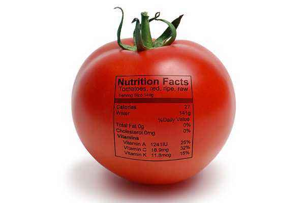 What vitamins are in tomatoes
