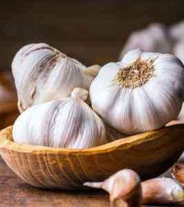Why does garlic dry