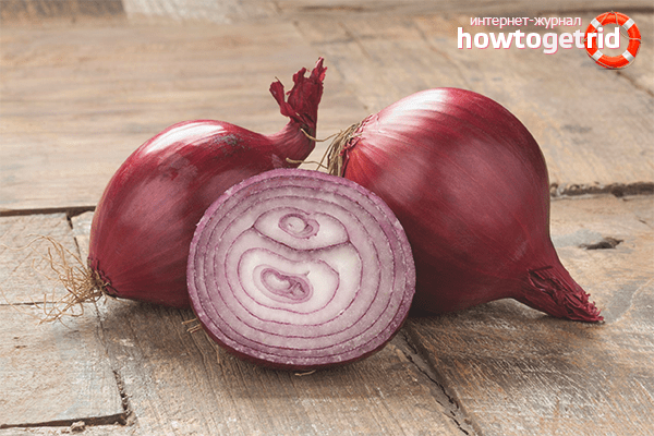 Why is it necessary to process onions with potassium permanganate