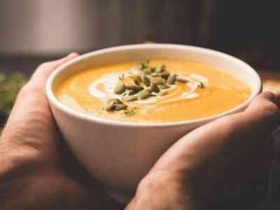 Тыквенный суп очень вкусный