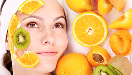 Apricot and other fruits in natural cosmetics