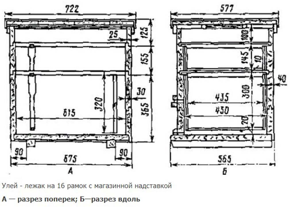 16-frame lounger