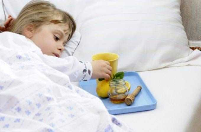 Consuming honey for colds