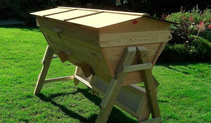 DIY Kenyan beehive