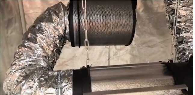 How to make your own growbox charcoal filter?