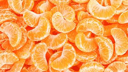 Mandarin, Calories, benefits and harms, Benefits