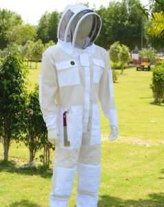 What is included in a beekeeper costume, detailed analysis
