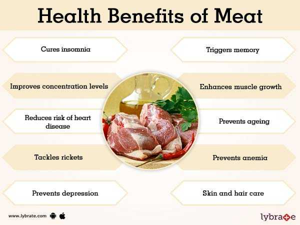 Beef, Calories, benefits and harms, Benefits