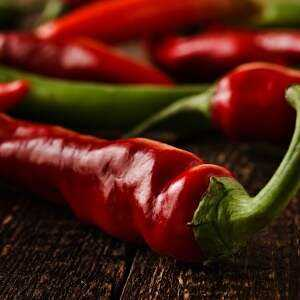 Chili pepper, Calories, benefits and harms, Benefits