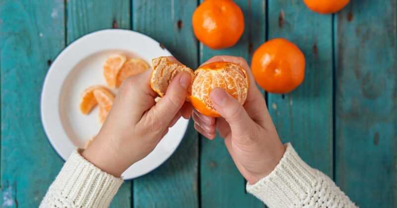 Clementines, Calories, benefits and harms, Useful properties