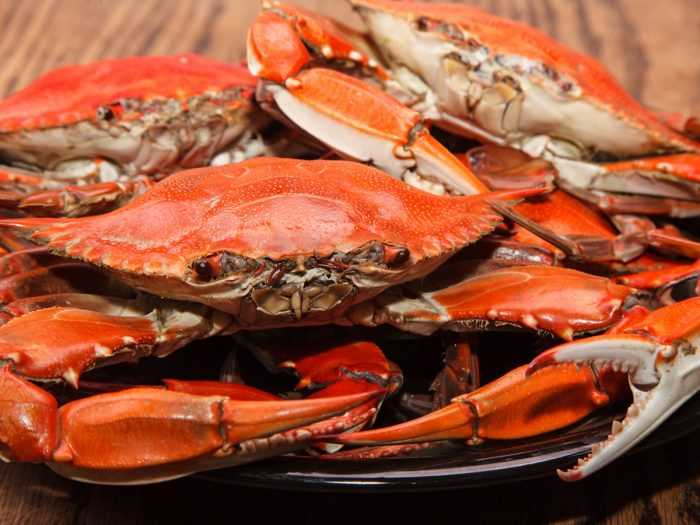 Crab, Calories, benefits and harms, Useful properties