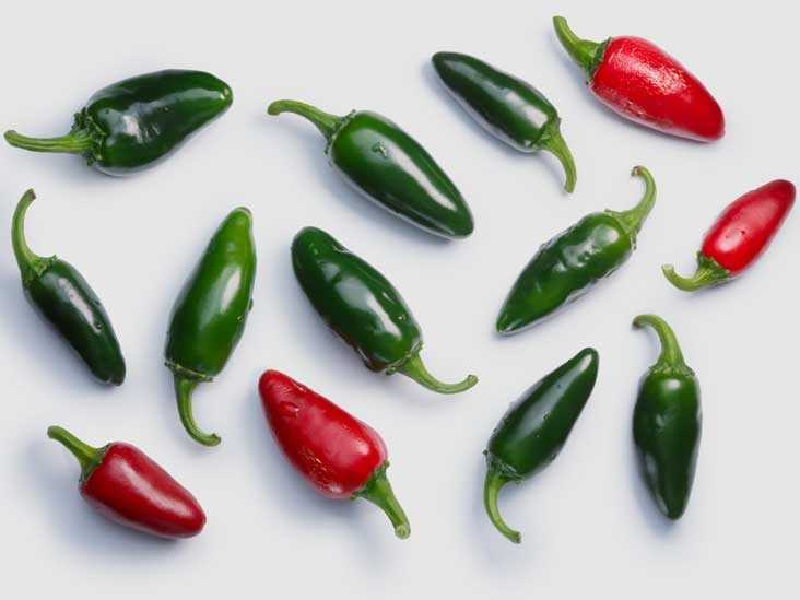 Hot peppers, Calories, benefits and harms, Useful properties