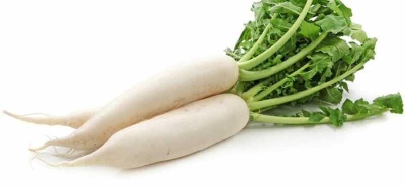 White radish/ Japanese radish – daikon, Calories, benefits and harms, Useful properties
