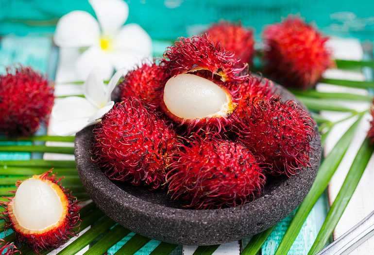 Rambutan, Calories, benefits and harms, Benefits