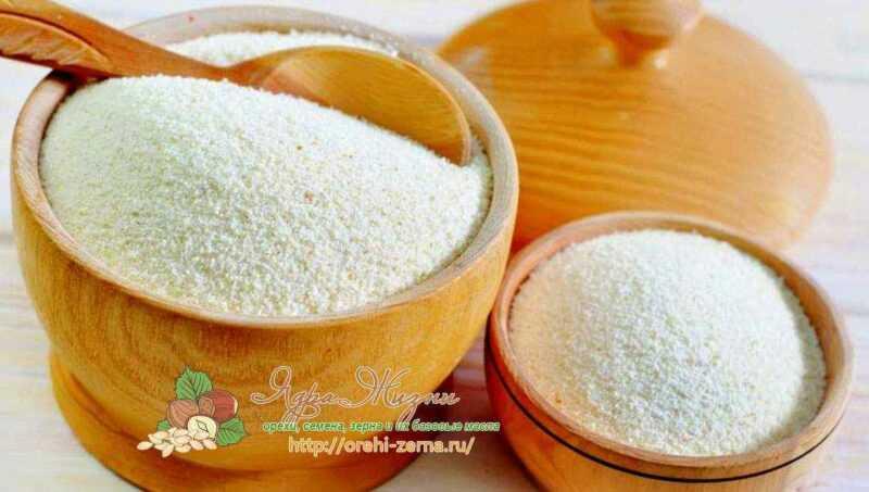 Semolina, Calories, benefits and harms, Useful properties