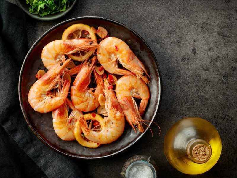 Shrimp, Calories, benefits and harms, Useful properties