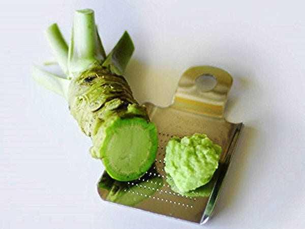 Wasabi, Calories, benefits and harms, Useful properties