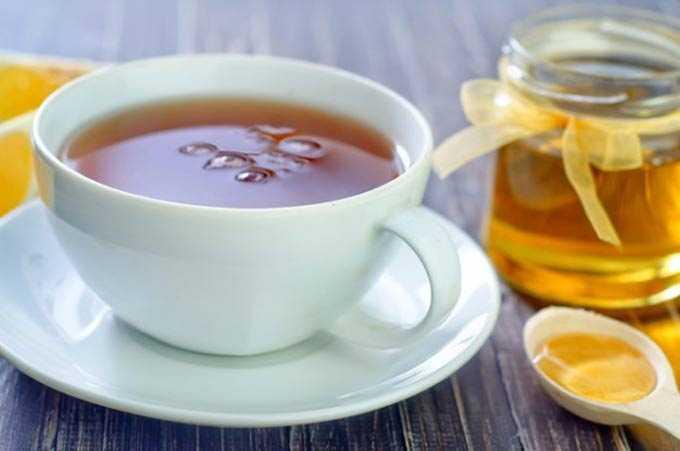 Beber miel por la noche