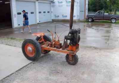 手押し型トラクター用のヒラーを作ります