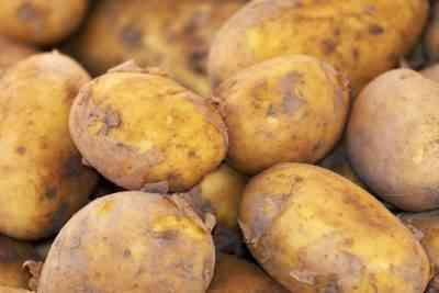 皮をむいたジャガイモの保管方法
