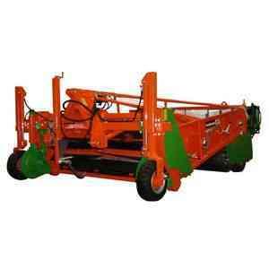 手押し型トラクター用ポテトディガーの種類