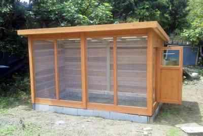 DIY鶏小屋の作り方