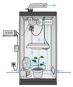 バイオフィルター-水耕栽培