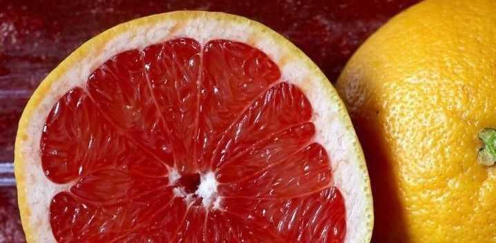 グレープフルーツ、カロリー、利点と害、有用な特性