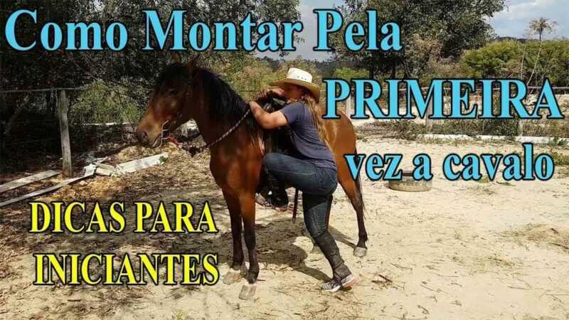Como andar a cavalo