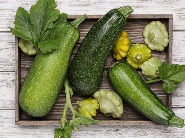 В замороженном виде можно хранить овощи до весны